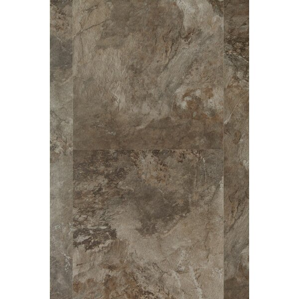 HydroCork Stone 12 Cork Flooring in Graphite Marble by Wicanders