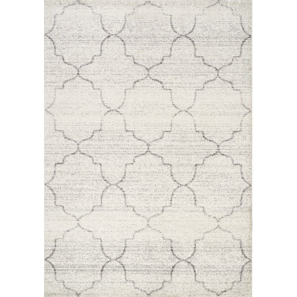 Falstaff Gray Area Rug by Darby Home Co