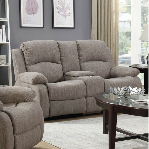 Stylish Berrios Reclining Loveseat by Winston Porter by Winston Porter