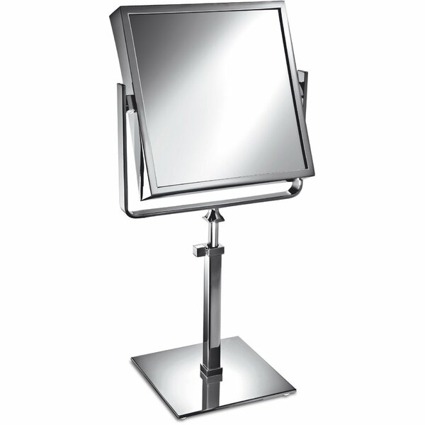 Matchett Square Double-Sided Makeup/Shaving Mirror by Latitude Run