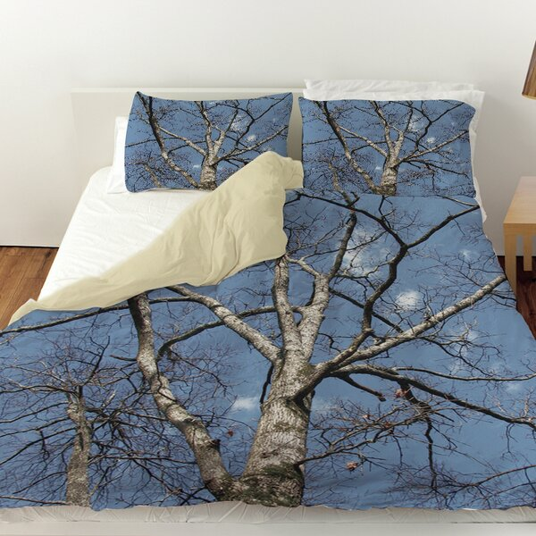 Reach for the Sky Duvet Cover by Manual Woodworkers & Weavers