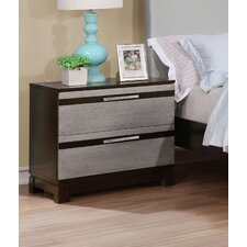 Dowd Contemporary 2 Drawer Nightstand by Brayden Studio