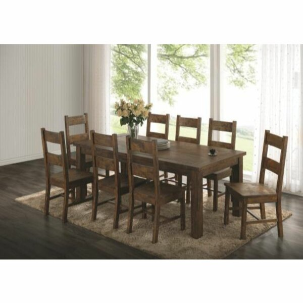 Adelynn 7 Piece Dining Set by Loon Peak Loon Peak