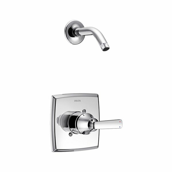 Ashlyn Shower Faucet Trim with Metal Lever Handle by Delta