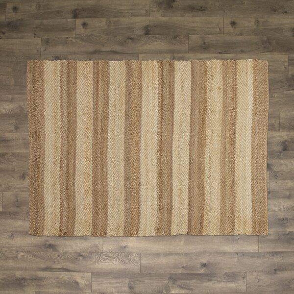 Haywood Hand-Woven Ivory Area Rug by Birch Lane™