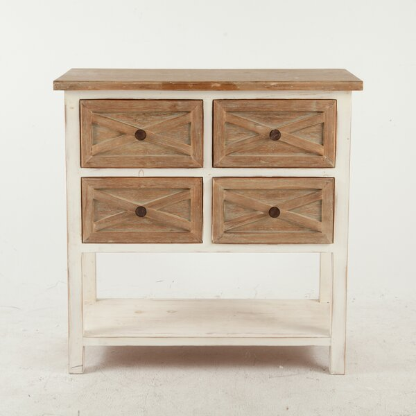 Shery 4 Drawer Accent Chest by August Grove August Grove