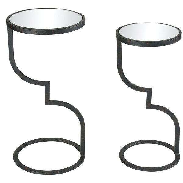 Kenwood 2 Piece Nesting Tables By Williston Forge
