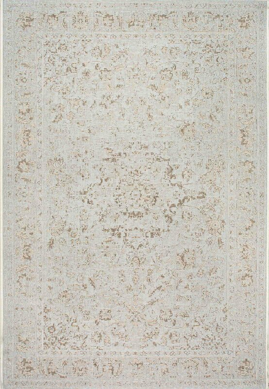 Algrange Ivory Indoor/Outdoor Area Rug #arearug #ivory #fixerupper