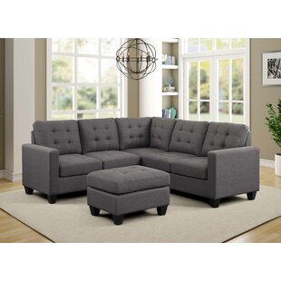 Gregson Sectional with Ottoman