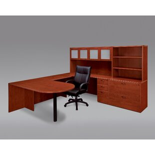 Fairplex 4-Piece U-Shape Desk Office Suite