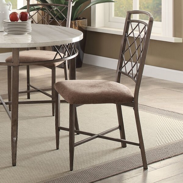 Bedfordshire Fabric Side Chair (Set of 2) by Charlton Home