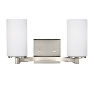 Burnley 100W 2-Light Vanity Light