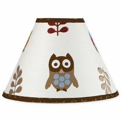 Night Owl 10 Cotton Empire Lamp Shade by Sweet Jojo Designs
