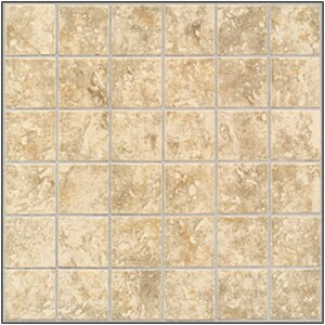 San Perla 2 x 2 Ceramic Mosaic Tile in Traditional Taupe by Mohawk Flooring