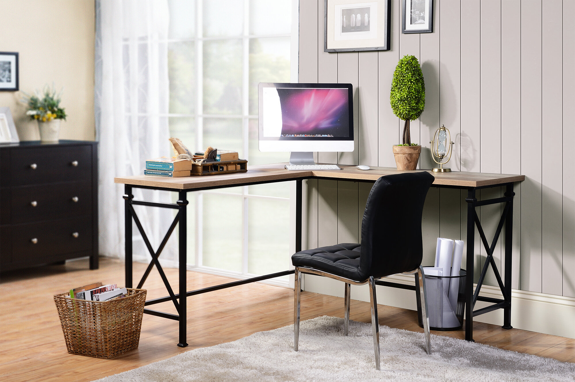 Homestar Banquo Corner Desk U0026 Reviews | Wayfair