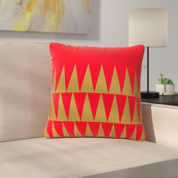 Suzanne Carter Christmas 1 Outdoor Throw Pillow by East Urban Home