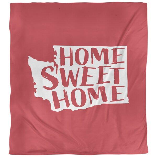 Home Sweet Washington Single Reversible Duvet Cover