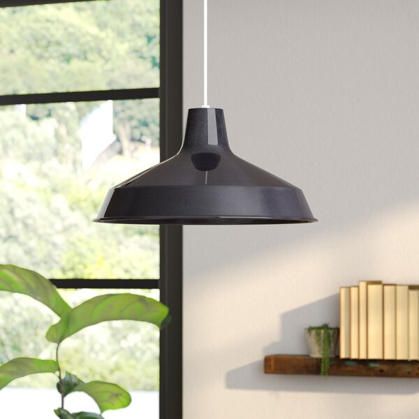 Woodsen 1-Light Inverted Pendant by Zipcode Design