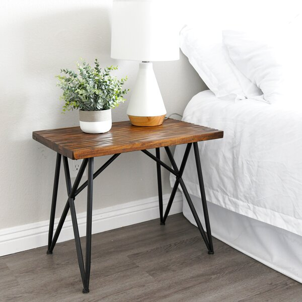 ConCourse End Table by Union Rustic