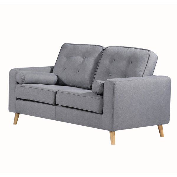 Genovese Tufted Loveseat by George Oliver