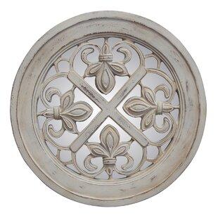Hickory Manor House Fluer De Lis Accent Mirror