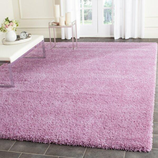 Vandoren Pink Area Rug by Wrought Studio
