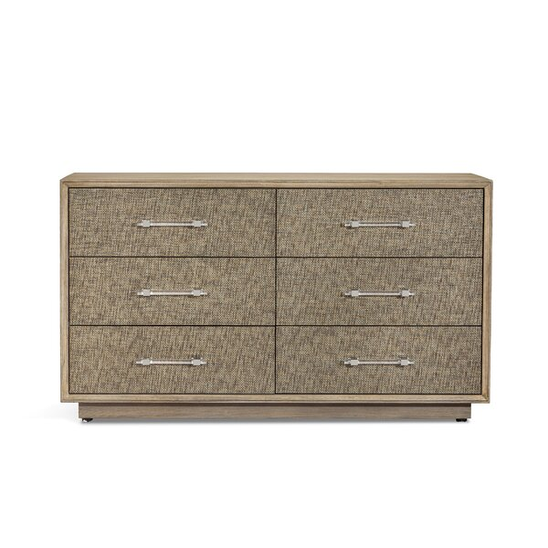 Mia 6 Drawer Accent Chest By Interlude