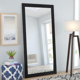 Brayden Studio Rectangle Modern Wall Mirror