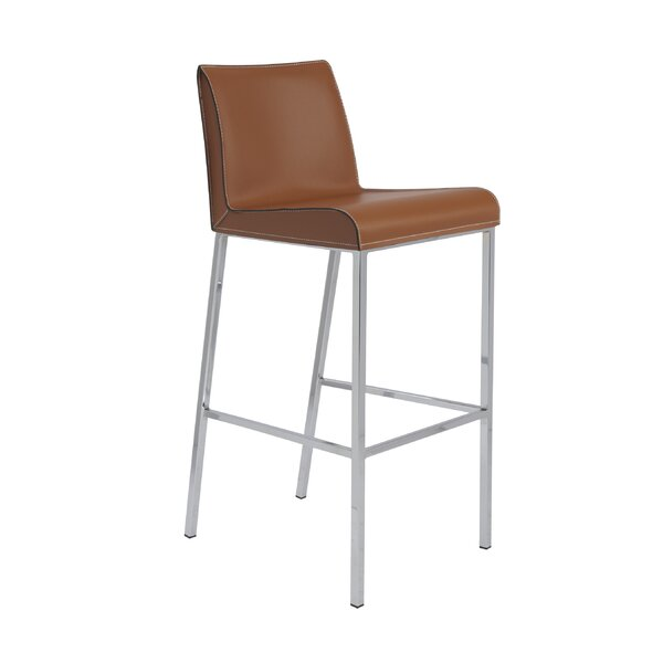 Bergenfield 30.5 Bar Stool (Set of 2) by Orren Ellis