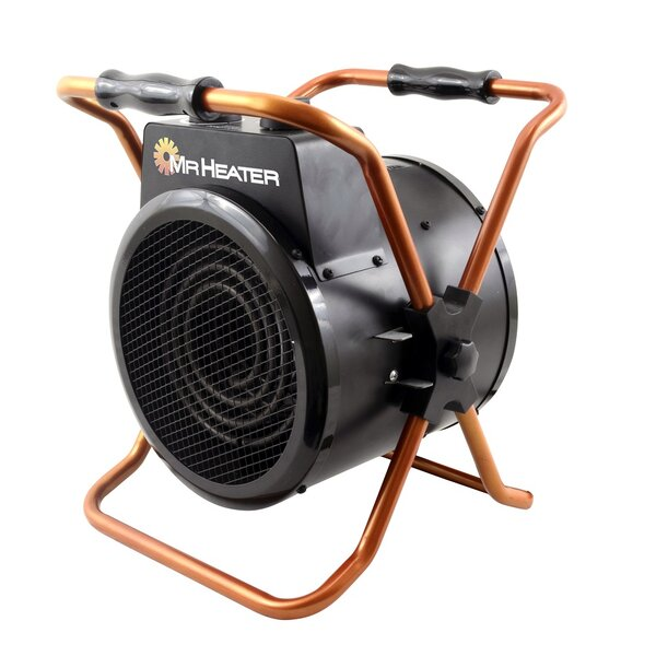 Review 1500 Watt Electric Forced Air Utility Heater
