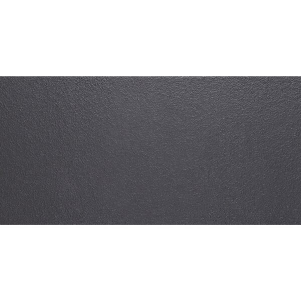 Aledo 12 x 24 Porcelain Field Tile in Black by Itona Tile