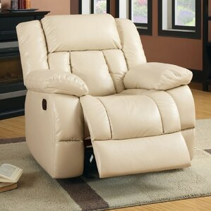 Beattie Manual Glider Recliner..