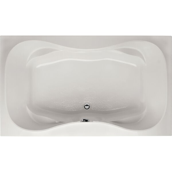 Designer Evansport 72 x 42 Air Tub by Hydro Systems