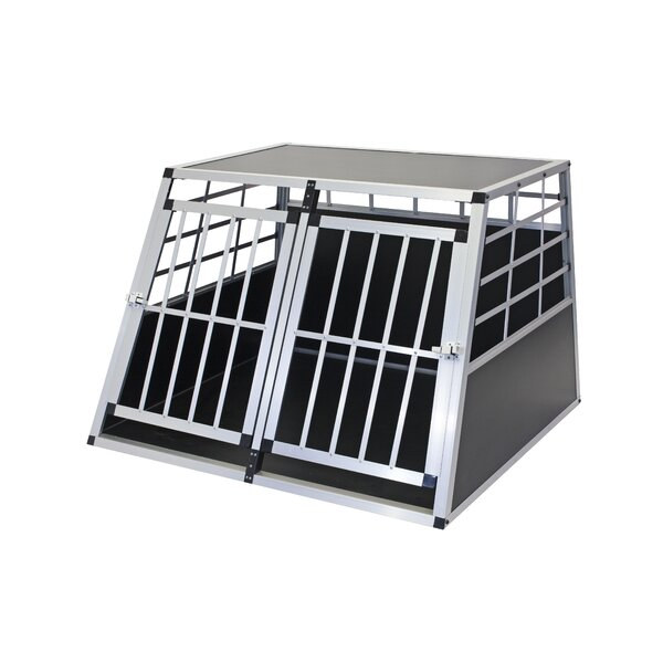 Fonzworth Econo Dual Kennel Pet Crate by Tucker Murphy Pet