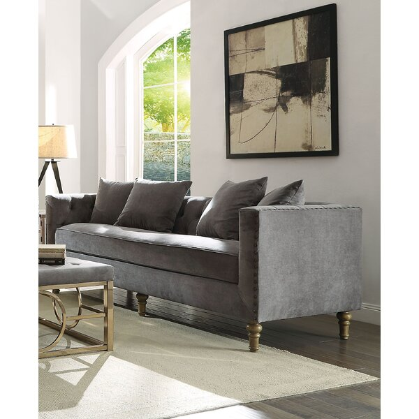 New Collection Fawke Sofa by Bungalow Rose by Bungalow Rose