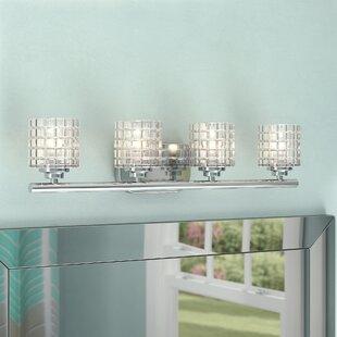Affordable Trencin 4-Light Vanity Light ByOrren Ellis