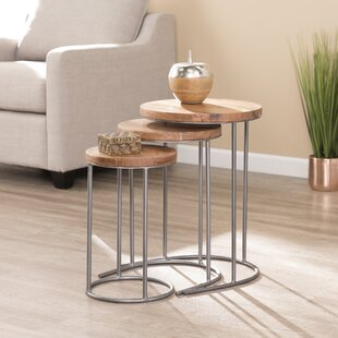 Sorensen 3 Piece Nesting Tables By Union Rustic