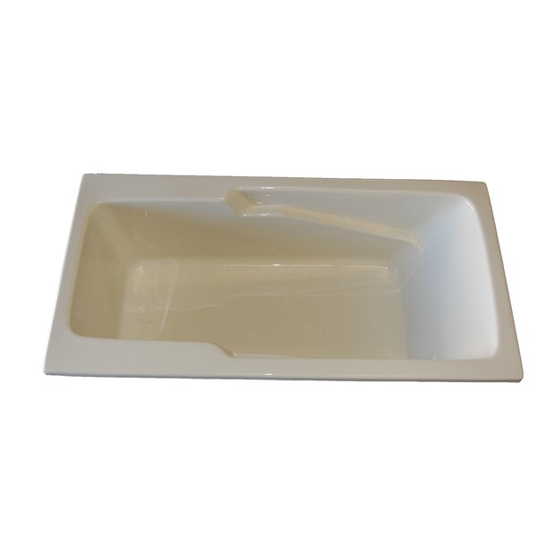 60 x 30 Armrest Salon Spa Air/Whirlpool Tub by American Acrylic