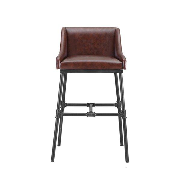 Mccormick Adjustable Height Bar Stool by Trent Austin Design