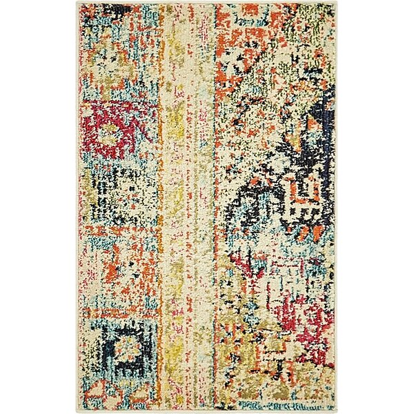 Piland Gold Area Rug by Bungalow Rose