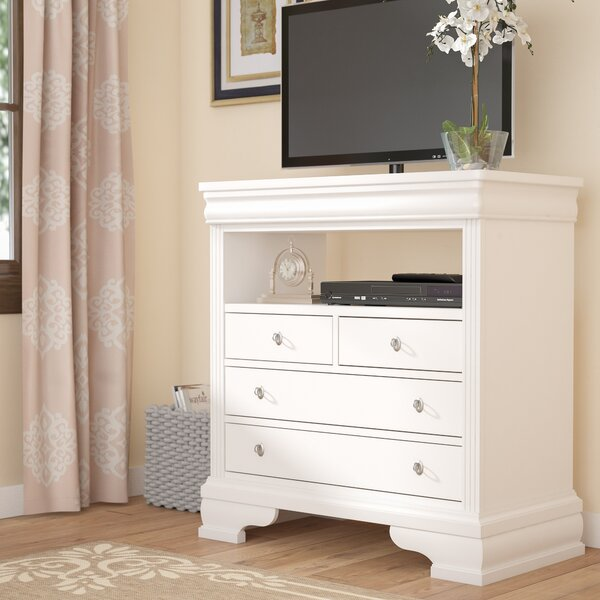 Hewitt 4 Drawer Media Chest By Three Posts