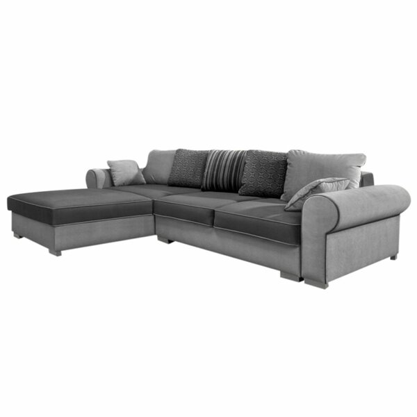 Review Atencio 122'' Reversible Sleeper Sectional