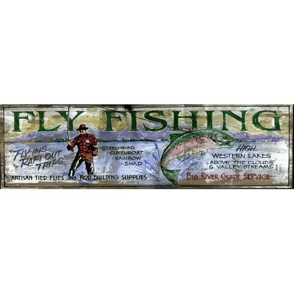 Big River Vintage Advertisement Plaque by Millwood Pines