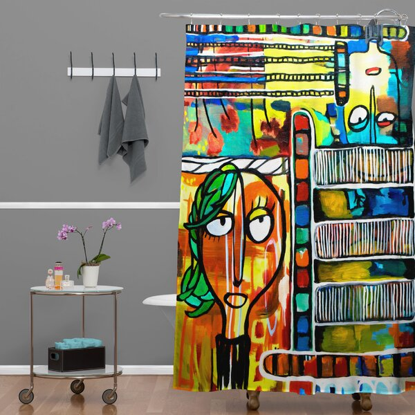 Robin Faye Gates Musical Chairs Shower Curtain by Deny Designs