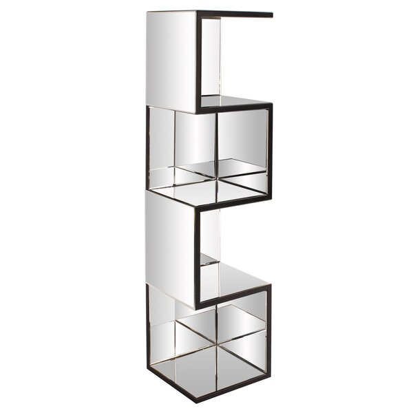 Geometric Bookcase by Everly Quinn