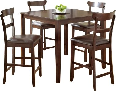Cotswold 5 Piece Counter Height Dining Set by Red Barrel Studio