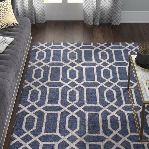 Blondell Hand-Tufted Blue Area Rug by Willa Arlo Interiors
