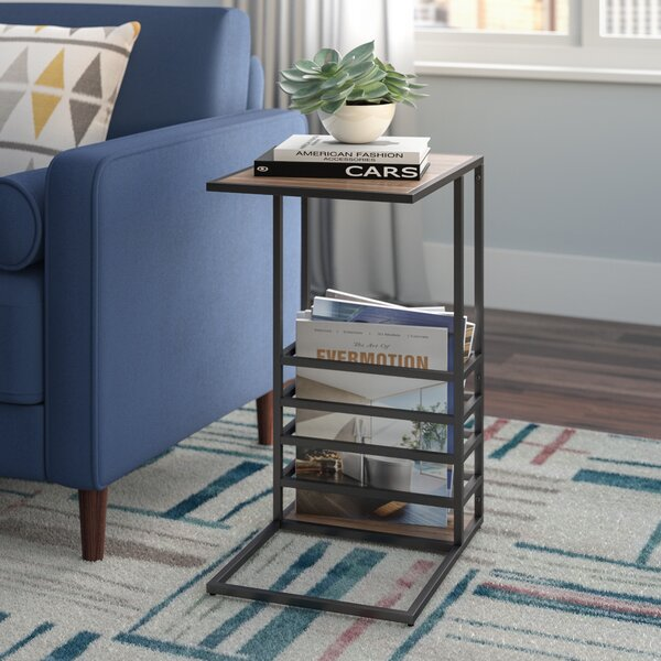 Raze Wood And End Table by Wrought Studio