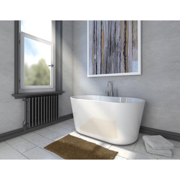 56 x 31.4 Freestanding Soaking Bathtub by A&E Bath and Shower