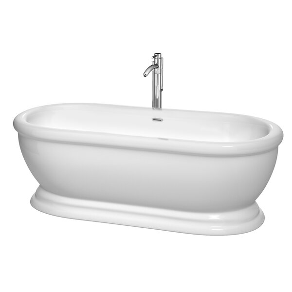 Mary 68.5 x 30.5 Soaking Bathtub by Wyndham Collection